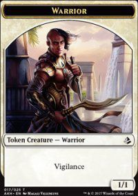 Token Magic Magic the Gathering Token/jeton - Amonkhet - 17/25 Guerrier
