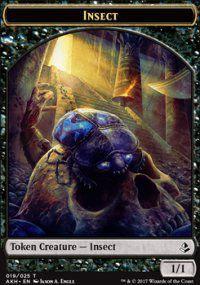 Token Magic Token/jeton - Amonkhet - 19/25 Insecte