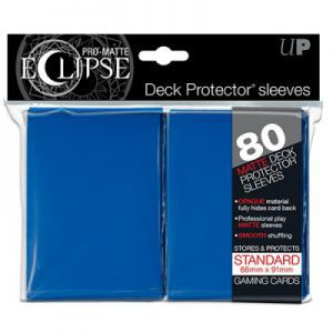 Protèges Cartes Accessoires Pour Cartes 80 pochettes Ultra Pro - Bleu - Eclipse - ACC