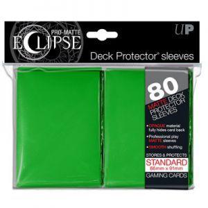 Protèges Cartes Accessoires Pour Cartes 80 pochettes Ultra Pro - Vert - Eclipse - ACC