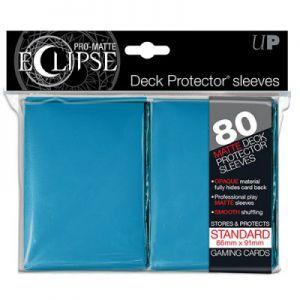 Protèges Cartes 80 pochettes - Eclipse - Bleu Clair