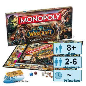 Autres jeux de plateau Jeux de Plateau World of Warcraft - Monopoly