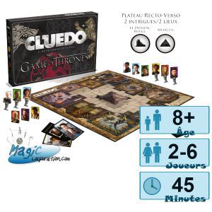 Autres jeux de plateau Jeux de Plateau Game of Thrones - Cluedo