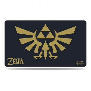 Tapis de Jeu Accessoires Pour Cartes Playmat - The Legend Of Zelda - Black and Gold