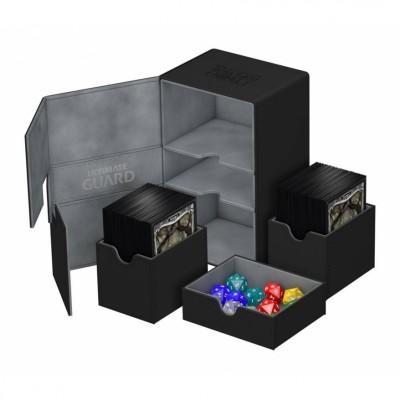 Boites de Rangements  Twin Flip'n'tray Case 160+ - Noir