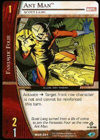 Marvel Origins - Cartes Vs System Autres jeux de cartes MOR-041 - Ant Man (C) - Vs System