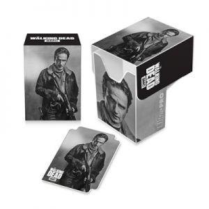 Boites de rangement illustrées Accessoires Pour Cartes Deck Box Ultra Pro - The Walking Dead - Rick - ACC