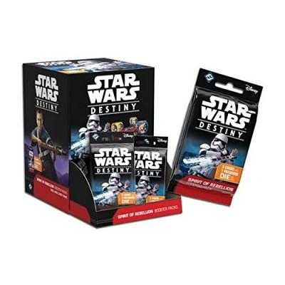 Star Wars Destiny Autres jeux de cartes Star Wars Destiny - Boite De 36 Booster Pack - L'âme De La Rébellion (en Français)