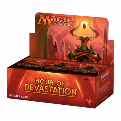 Boites de Boosters Magic the Gathering Hour of Devastation -  Boite De 36 Boosters