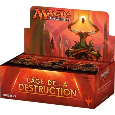 Boites de Boosters L'Age de la Destruction -  Boite De 36 Boosters