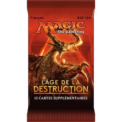 Boosters Magic the Gathering L'Age de la Destruction