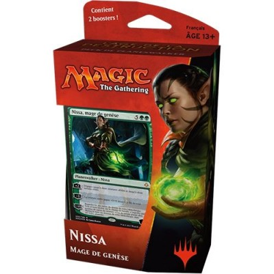 Decks Magic the Gathering L'âge de la Destruction - Planeswalker - Nissa, mage de genèse