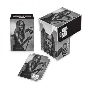 Boites de rangement illustrées Accessoires Pour Cartes Deck Box Ultra Pro - The Walking Dead - Michonne - ACC