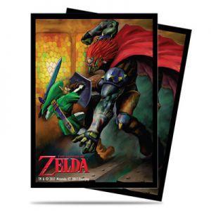 Protèges Cartes illustrées Accessoires Pour Cartes 65 Pochettes Ultra Pro - The Legend of Zelda - Link VS Gannon Battle - ACC