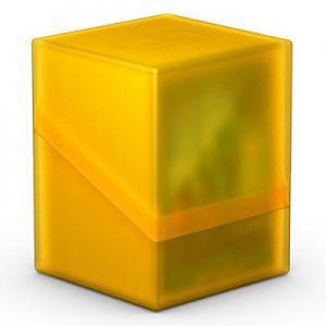 Boites de Rangements Accessoires Pour Cartes Deck Box Ultimate Guard - Boulder 100+ - Jaune/Ambre - Acc
