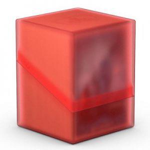 Boites de Rangements Accessoires Pour Cartes Deck Box Ultimate Guard - Boulder 100+ - Rouge/Rubis - Acc