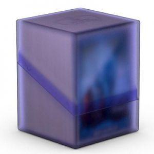 Boites de Rangements Accessoires Pour Cartes Deck Case - Boulder 100+ - Violet Amethyste