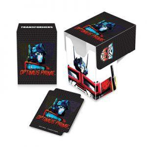 Boites de rangement illustrées Accessoires Pour Cartes Deck Box Ultra Pro - Transformers - Optimus Prime - ACC