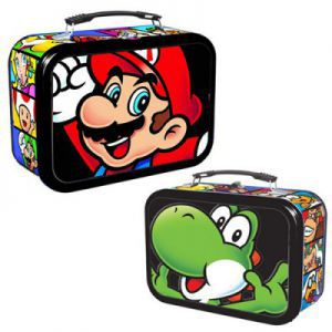 Boites de rangement illustrées  Deck Box - EnterPlay - Mario & Yoshi Tin