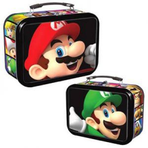 Boites de rangement illustrées Deck Box - EnterPlay - 3D Mario & Luigi Tin - ACC