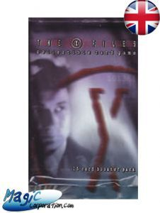 X-Files Autres jeux de cartes The X-Files - Booster - (EN ANGLAIS)