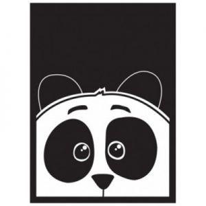 Protèges Cartes illustrées  50 Pochettes - Panda
