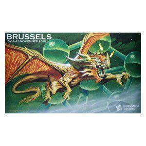 Tapis de Jeu Accessoires Pour Cartes Tapis De Jeu - Playmat Promo - Grand Prix - Brussels 2015 - ACC