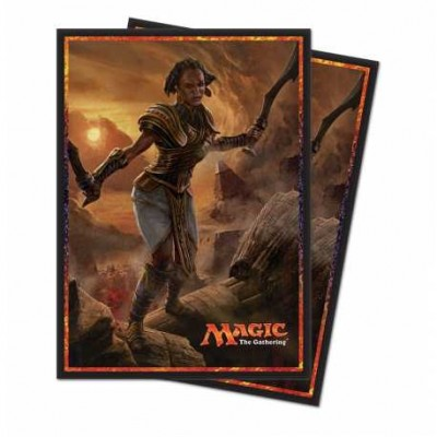 Protèges Cartes illustrées Magic the Gathering L'Age de la Destruction - 80 Pochettes - Samut