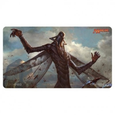 Tapis de Jeu Magic the Gathering L'Age de la Destruction - Playmat - Dieu Sauterelle