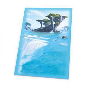 Protèges Cartes illustrées Accessoires Pour Cartes 80 Pochettes - Lands Edition - Ile