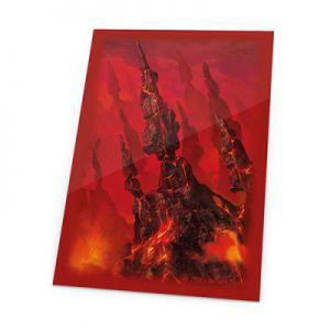 Protèges Cartes illustrées Accessoires Pour Cartes 80 Pochettes Ultimate Guard - Lands Edition - Montagne/rouge - Acc