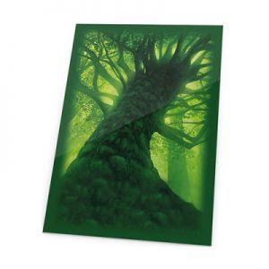 Protèges Cartes illustrées Accessoires Pour Cartes 80 Pochettes Ultimate Guard - Lands Edition - Foret/vert - Acc