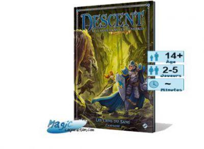 Descent Jeux de Plateau Descent - Extension - Les Liens Du Sang (livre De Campagne