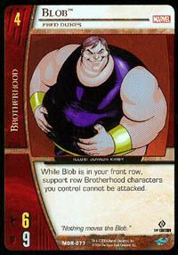 Marvel Origins - Cartes Vs System Autres jeux de cartes MOR-077 - Blob (C) - Vs System