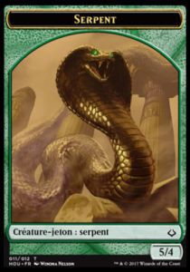 Token Magic Magic the Gathering Token/Jeton - L'age de la destruction - 11/12 Serpent