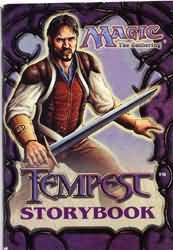 Livres Magic the Gathering Livre - Tempest Storybook - (EN ANGLAIS)