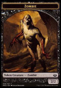 Tokens Magic Magic the Gathering Token/Jeton - Modern Masters 2017 - 06/21 Zombie
