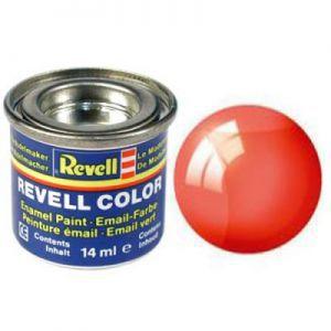 Peintures pour Figurines Accessoires Pour Cartes Email Color - 32731 - Rouge Clair Transparent - Revell - ACC