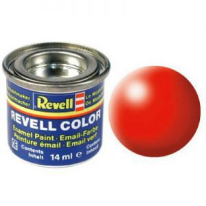 Peintures pour Figurines Accessoires Pour Cartes Email Color - 32332 - Rouge Fluo Satiné - Revell - ACC