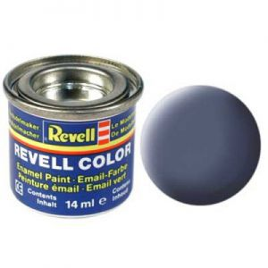Peintures pour Figurines Accessoires Pour Cartes Email Color - 32157 - Gris Mat - Revell - ACC