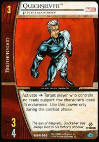 Marvel Origins - Cartes Vs System Autres jeux de cartes MOR-088 - Quicksilver (C) - Vs System