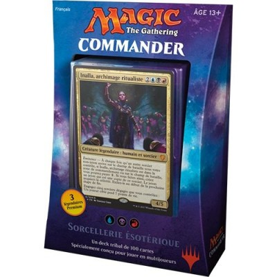 Decks d'Evénement & Commander & Duel Decks Magic the Gathering Deck Commander 2017 - Sorcellerie Esoterique