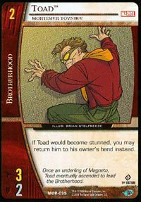 Marvel Origins - Cartes Vs System Autres jeux de cartes MOR-095 - Toad (C) - Vs System