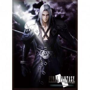 Protèges Cartes illustrées Accessoires Pour Cartes 60 Protèges Cartes Square Enix - Final Fantasy - Sephiroth - Acc