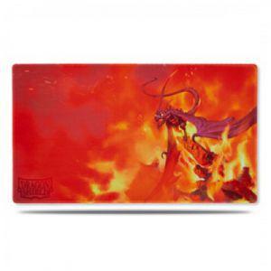 Tapis de Jeu Accessoires Pour Cartes Play Mat - Matte Orange