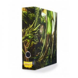 Classeurs et Portfolios  Slipcase Binder - Green art Dragon