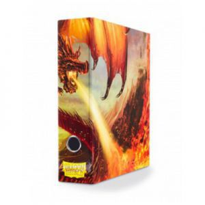 Classeurs et Portfolios  Slipcase Binder - Red art Dragon