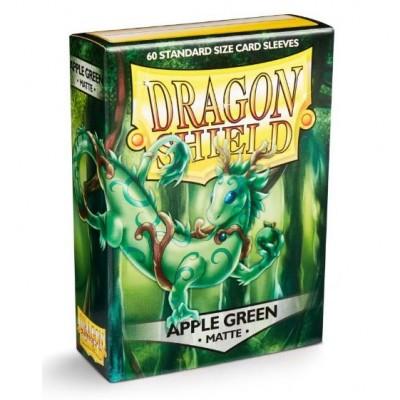 Protèges Cartes Accessoires Pour Cartes 60 pochettes Dragon Shield Matte - Apple Green - ACC