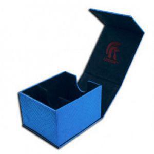 Boites de Rangements Legion - Deck Box - Hoard Plus Dragon Hide - Blue - ACC