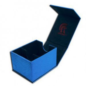 Boites de Rangements Accessoires Pour Cartes Legion - Deck Box - Hoard Plus Dragon Hide - Blue - ACC